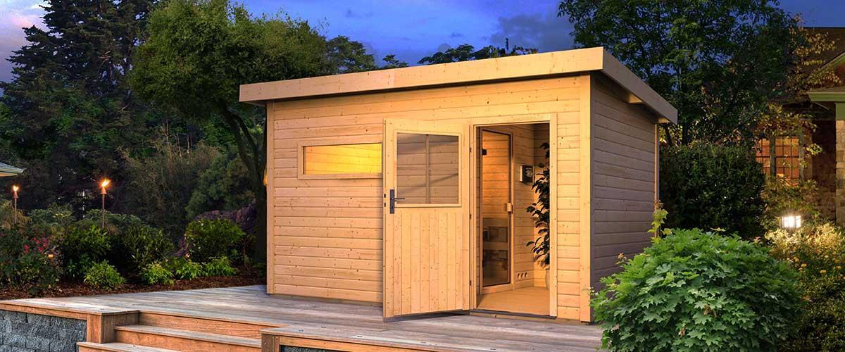 Die Eigene Sauna Bauen